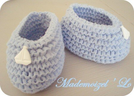 Mademoizel'Lo Créations :  indie knitting mademoizello chaussons