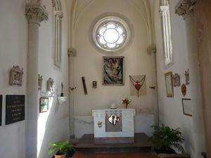 Chapelle de Melay interieur