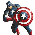 AVENGERS RUN 02 <b>CAPTAIN</b> <b>AMERICA</b>