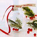 Quelles attaches choisir pour suspendre les boules de Noël sur le sapin ?