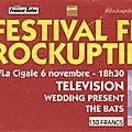 Television / The Wedding Present / The <b>Bats</b> - Vendredi 6 Novembre 1992 - Festival des Inrocks à la Cigale (Paris)