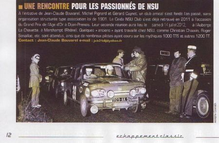 Juin 2013 (Page 12) Article Ceida NSU Club