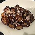 Légumes rôtis sauce soja