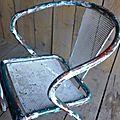 Rares fauteuils Tolix...
