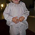 Tunique <b>raglan</b> pour pyjama de fillette