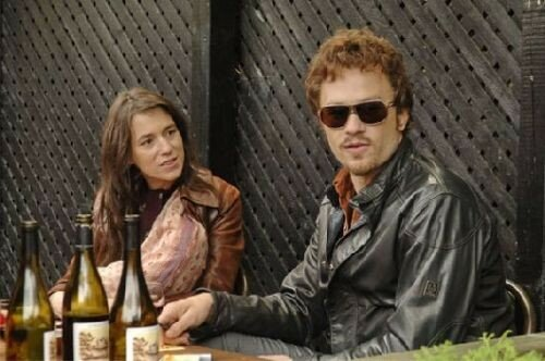 Charlotte Gainsbourg & Heath Ledger dans I'm Not There
