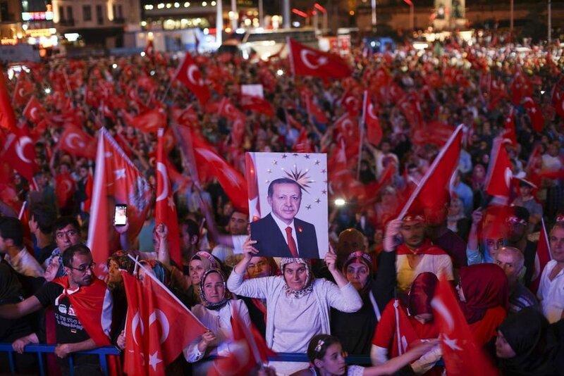 Strasbourg pro Erdogan