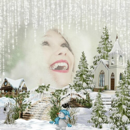 Scrap'Angie - winter magic - photo Pixabay