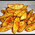 Potatoes maison ou <b>pommes</b> de <b>terre</b> rôties au four...
