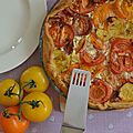 Tarte aux <b>tomates</b> varies
