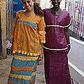 ATELIER DE CONFECTION & DE STAGE EN HAUTE COUTURE ET BRODERIE AFRICAINE AU BENIN EN AFRIQUE