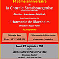 La Chorale Strasbourgeoise