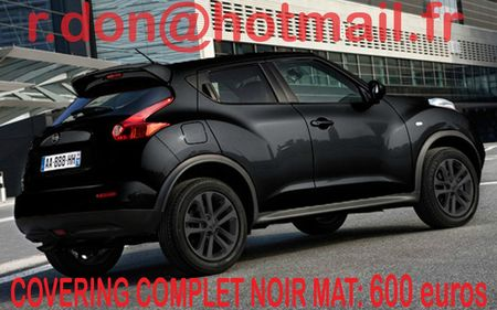 covering nissan juke nissan juke noir mat. Black Bedroom Furniture Sets. Home Design Ideas