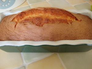 recettes  Quatre quart pur beurre