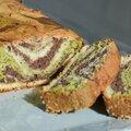 Sponge <b>cake</b> marbré