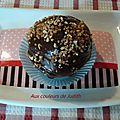 <b>Cupcakes</b> aux pépites chocolatées