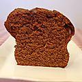 Mon <b>cake</b> au chocolat fétiche