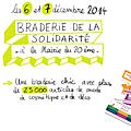 Braderie de la solidarité 2014