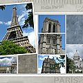 photo Paris scrap <b>citation</b>