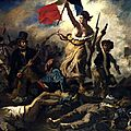 Thmatique Arts, Etats et pouvoir - La libert guidant le peuple (Delacroix)