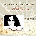 Journée 100% SCrapbooking avec Prisca Jockovic - Dimanche 20 novembre 2016