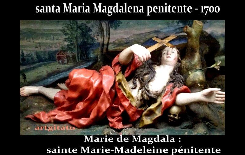 santa maria magdalena sainte marie madeleine pénitente artgitato Huesca