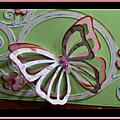 Un merci en arabesques et papillons