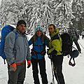 Retour aux <b>cascades</b> du Lac Blanc