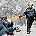 La police, milice privée de l'oligarchie contre le peuple.