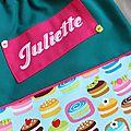 le sac de Juliette...