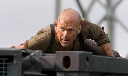 Bruce Willis dans Die Hard 4
