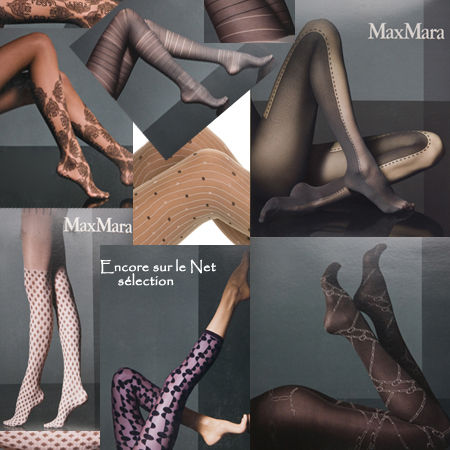 Collants fantaisie Max Mara