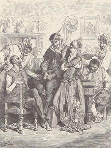 Cervantes Quichotte par G Doré 16