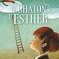 La chaton d'Esther, de Jeanne Charles