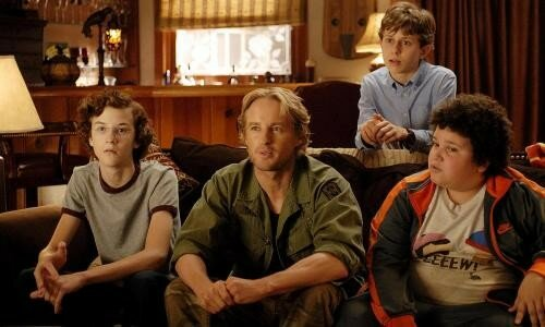 Nate Hartley, Owen Wilson, David Dorfman & Troy Gentile