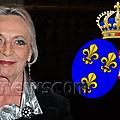 Les <b>titres</b> de la princesse Micaëla d'Orléans, comtesse de Paris
