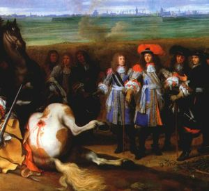 LeBrun_Louis_XIV_at_Douai_in_the_War_of_Devolution_1667