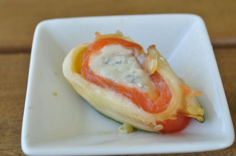 roulade courgette saumon apritif