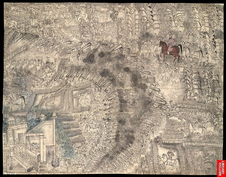 766px-The_Third_battle_of_Panipat_13_January_1761