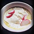 <b>Soupe</b> aux fânes de radis