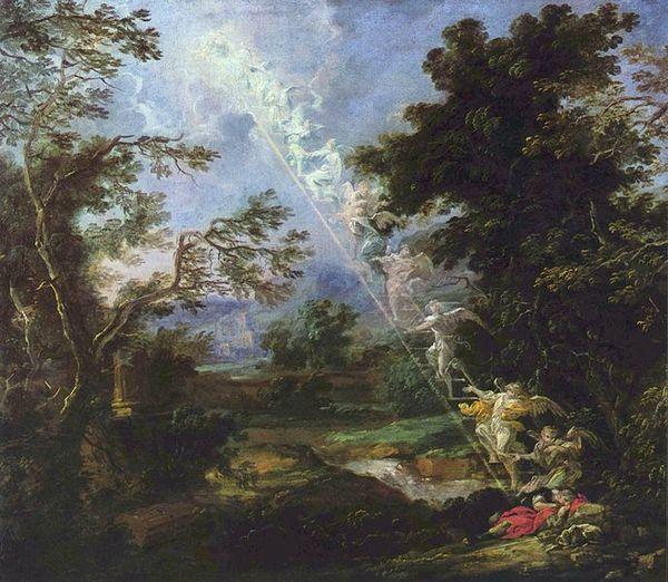 Michael Lukas Leopold Willmann L'échelle de Jacob