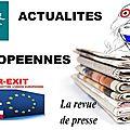 Actualités européennes (8)