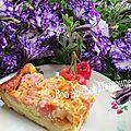 <b>Clafoutis</b> aux cerises du verger à la crème et riz et farine T45 et bonne fête des mamans pour dimanche