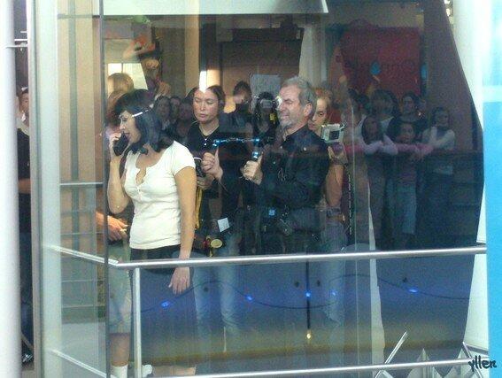 Sophie Marceau et Robert Hossein en tournage au Havre... 6894573
