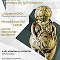 Femmes de la préhistoire par Claudine COHEN