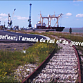 Le train de l'Armada de Rouen