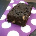<b>BROWNIE</b> FORT EN CHOCOLAT