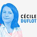 NOUVEAU MAGAZINE POLITIQUE DE <b>FRANCE</b> 3 ET SES REGIONS DIMANCHE EN POLITIQUE N°1 : <b>CECILE</b> DUFLOT