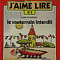Livre <b>Collection</b> ... J'AIME LIRE n°5 - 6 - 8 & 9 (1977)