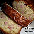 Cake saucichon-cornisson